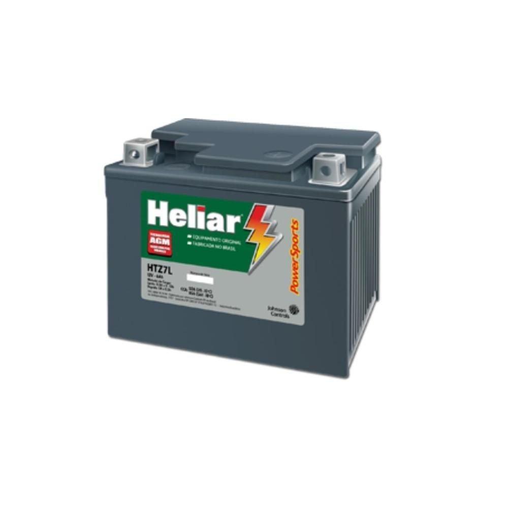 BATERIA DE MOTO HELIAR POWERSPORTS 6AH – 12V – HTZ-DL – SELADA AGM