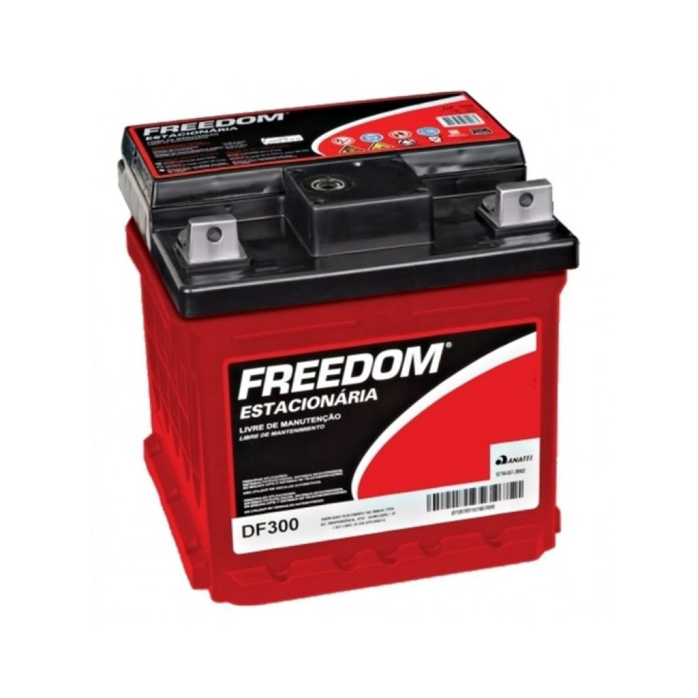 Bateria Estacionária Freedom DF300 26Ah/30Ah